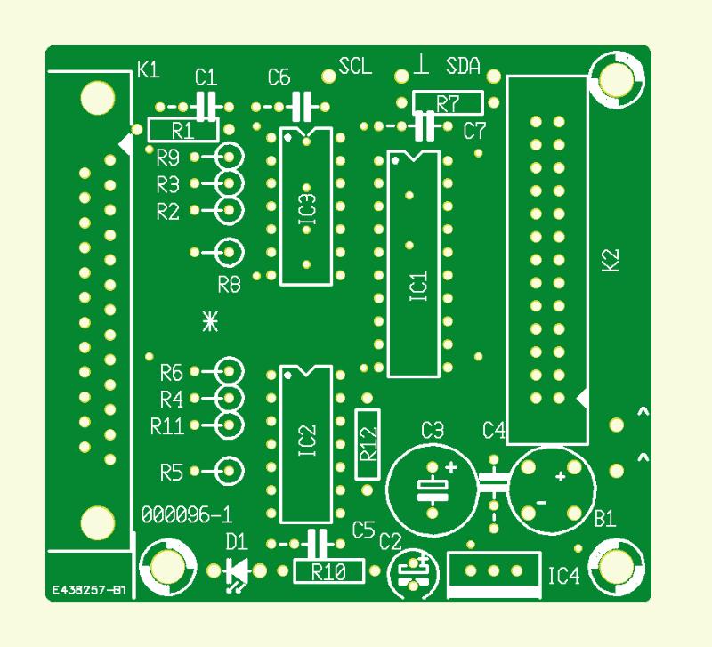 I2C-Interface am EPP