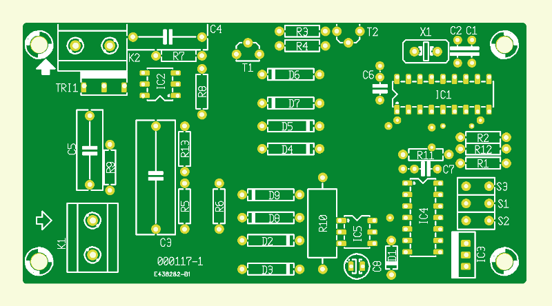 Mikrocontrollergesteuerter Dimmer