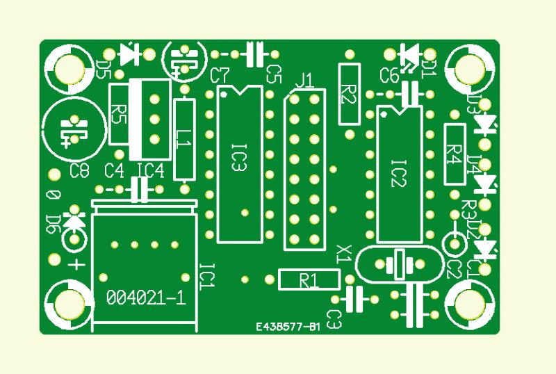 IR.Transmitter für Glasfaser-Leitung