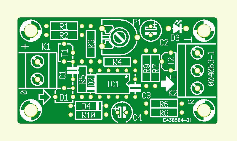 Maximaltemperatur-Detektor für Lüfterregelung