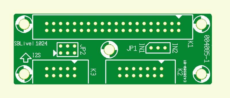 Adapter für SoundBlaster Live! Player 1024