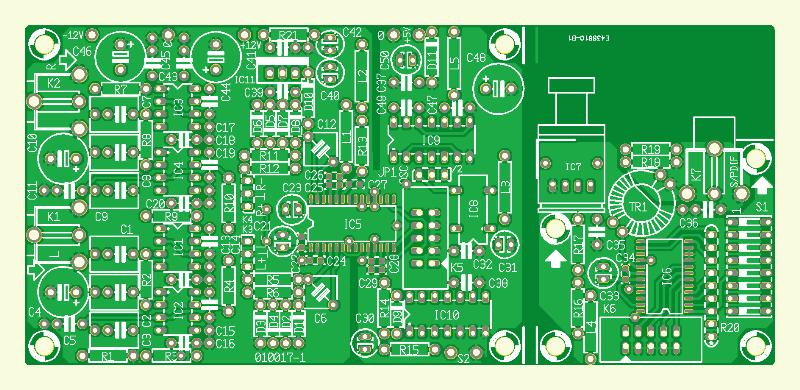 Audio-ADC 2000 Platine Konverter