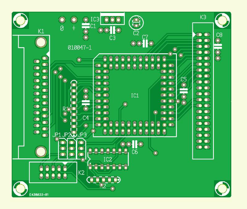 Harddisk-Interface für Druckerport