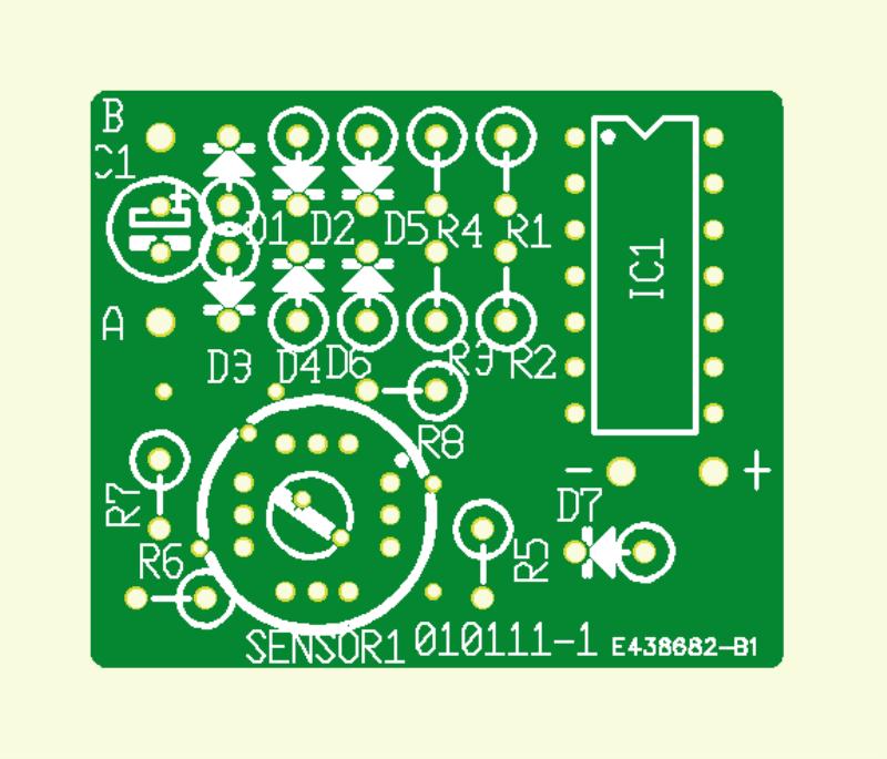 Kompass-Sensor für Lego-RCX