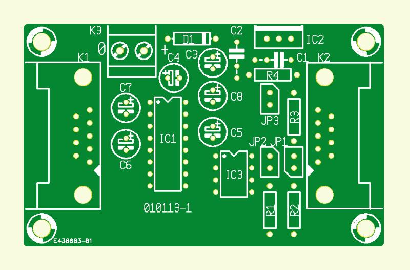 DCI Bus: PCB 1