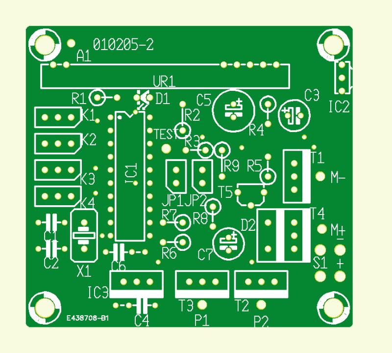Miniatur-PCM-Fernsteuerung Empfänger