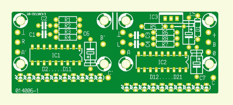Stereo-LED-VU für Autoradios
