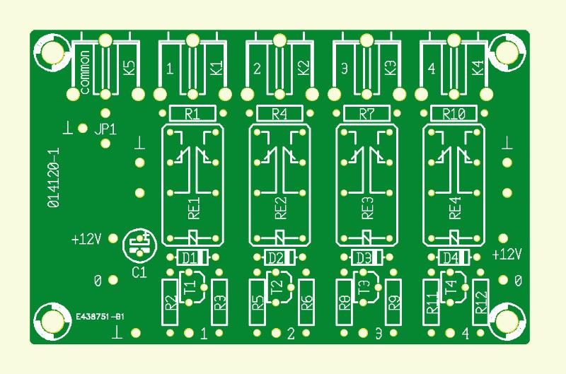 Modularer AV-Schalter