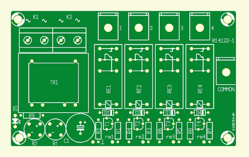 Switchbox für Lautsprecher
