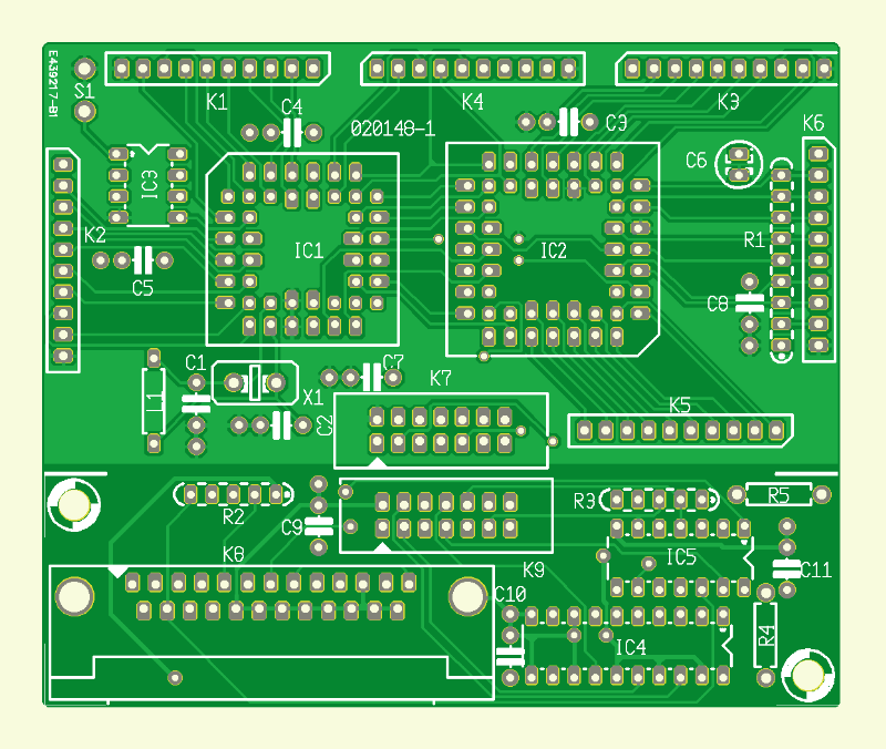 Flexibler Mikrocontroller-Baustein