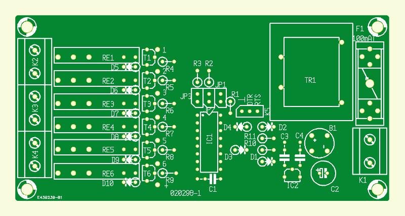 RS-232-gesteuerte Steckdosenleiste