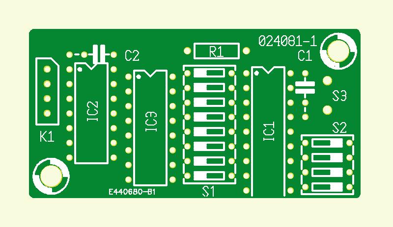 Netz-Fernsteuerung: Enkoder