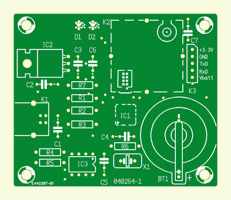 GPS-Empfänger am USB