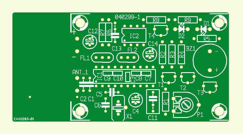 RFID-Detektor für 13.56 MHz