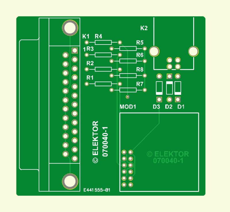 2.4-GHz-Spektrum-Analyser