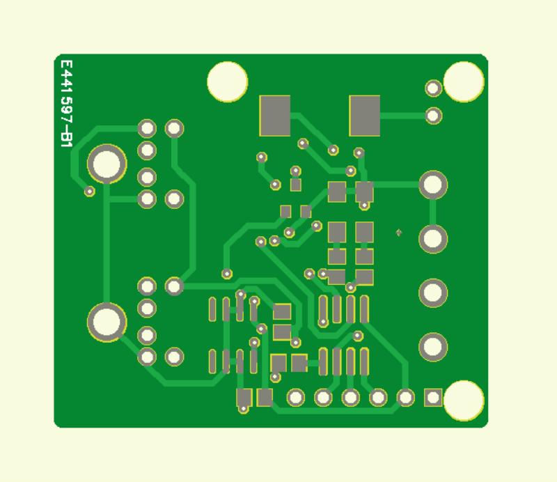 LEDBUS-System  (Platine Leistungsmodul)