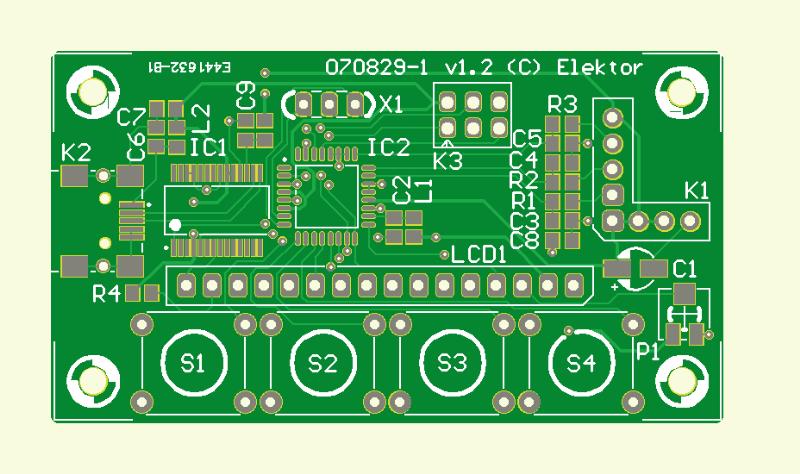 Neigungsmesser mit USB (Platine)