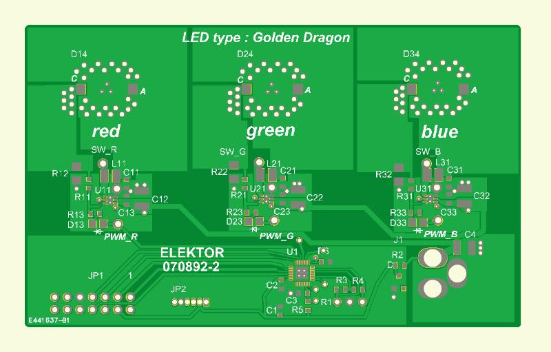 RGB-LED-Stimmungslicht  Platine 2
