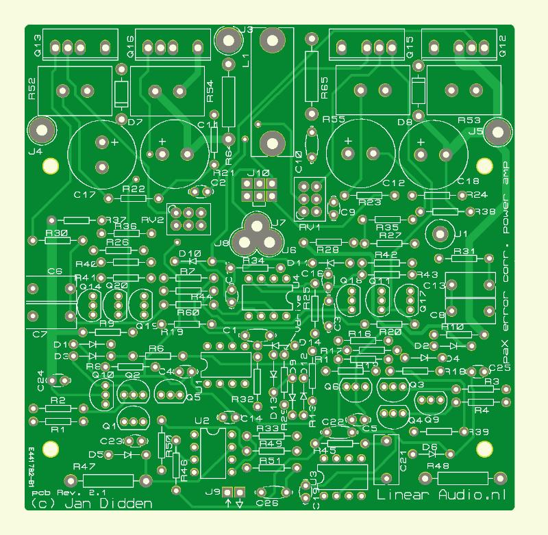paX: Endverstärker (Platine)