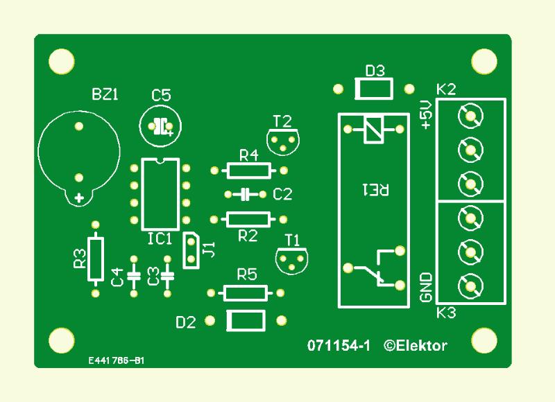 RFID-Türöffner  (Platine)