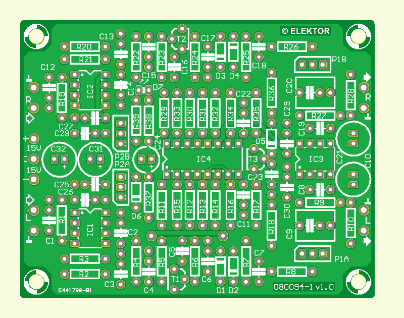 Audio Exciter (Platine )