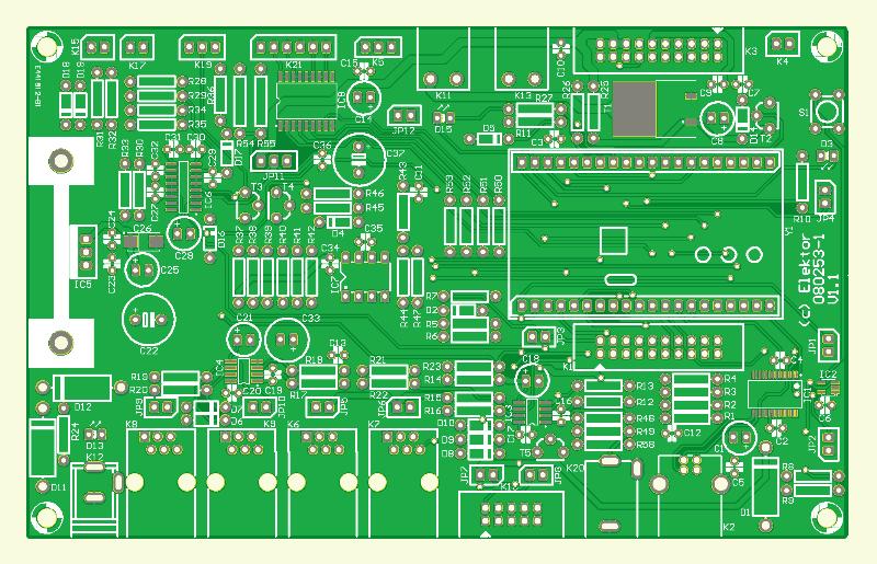 Prüfstand für Modellmotoren (Platine Main Board)