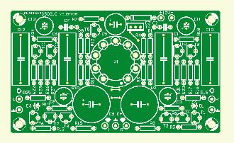 Verbesserter Hybrid-Kopfhörer-Verstärker (Platine)