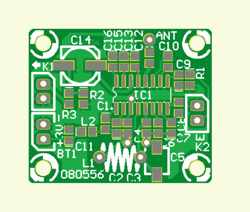 Mini-FM-Radio  (Platine)