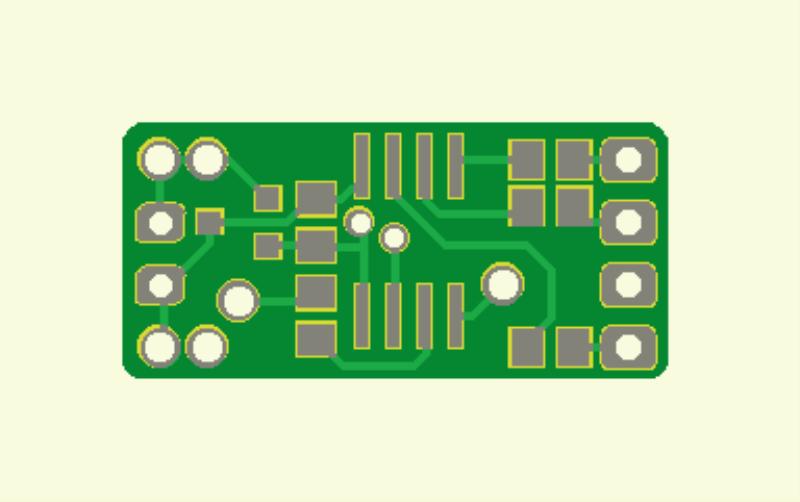 Farbgesteuerte Lichterkette (Platine lamp module)