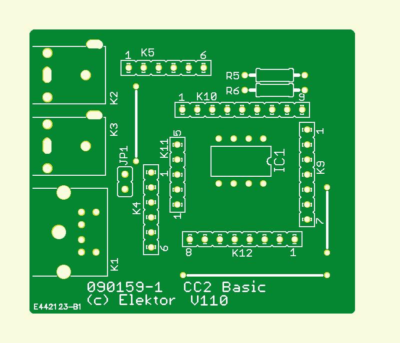 CC2-BASIC-Computer (Platine)