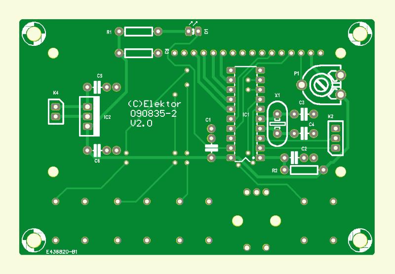Digital Multi-Effects Unit (User Interface PCB)
