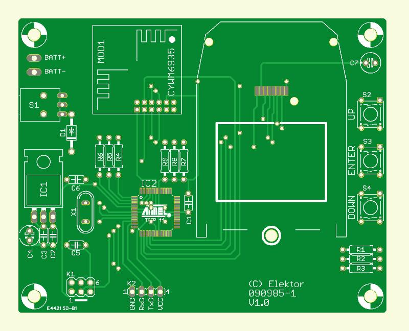 2.4-GHz-Scanner (Platine)