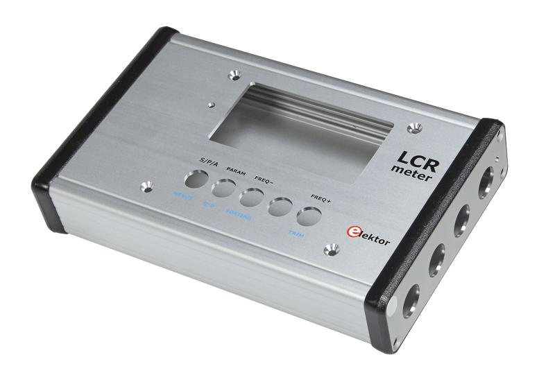 Aluminium-Gehäuse für 500 ppm LCR-Meter (110758-71)