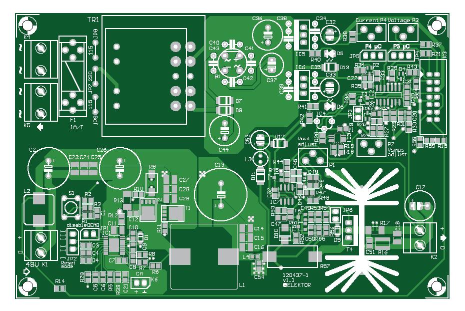 VariLab 402 (Hauptplatine   120437-1)