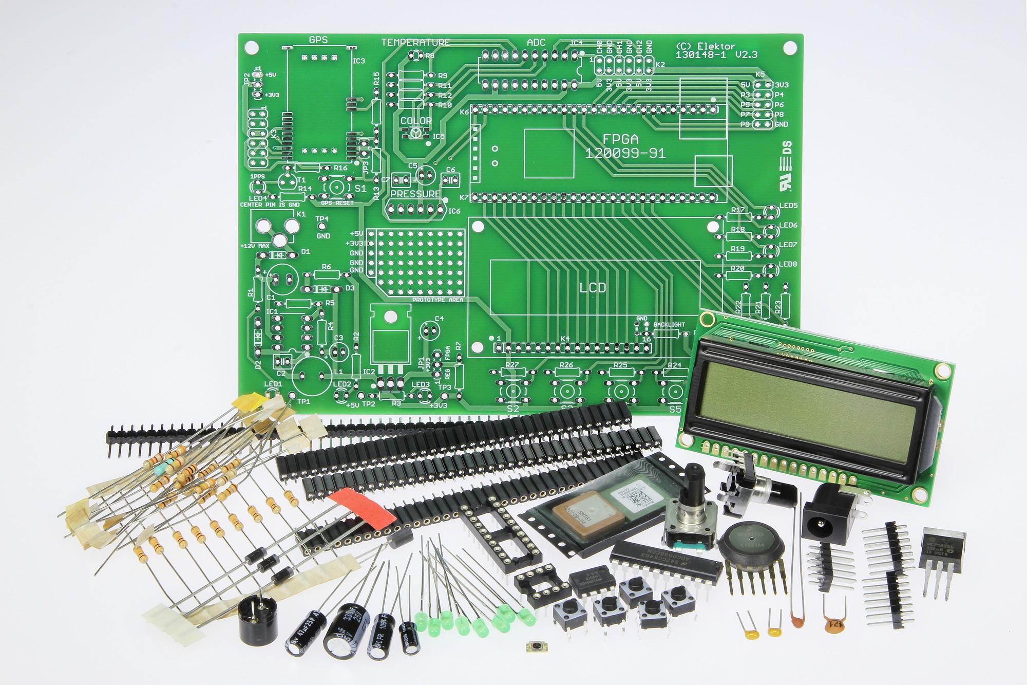 Erweiterungsplatine für das Elektor-FPGA-Board (130148-71)
