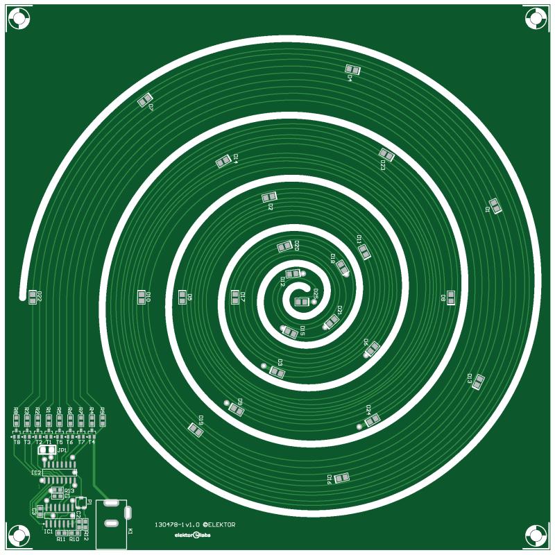 Spiral Christmas Tree (130478-1)