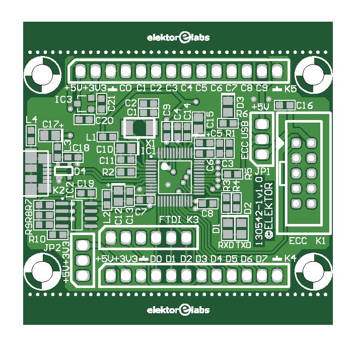 Serieller USB-nach-Multi-Protokoll-Konverter (130542-1)