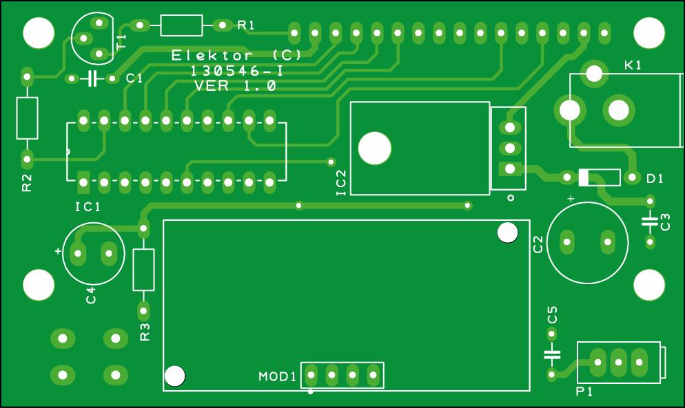 Ultraschall-Entfernungsmesser (130546-1)