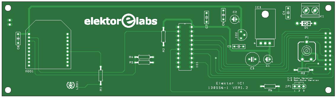 Elektor ZigTexter (Empfänger-Platine | 130556-1)