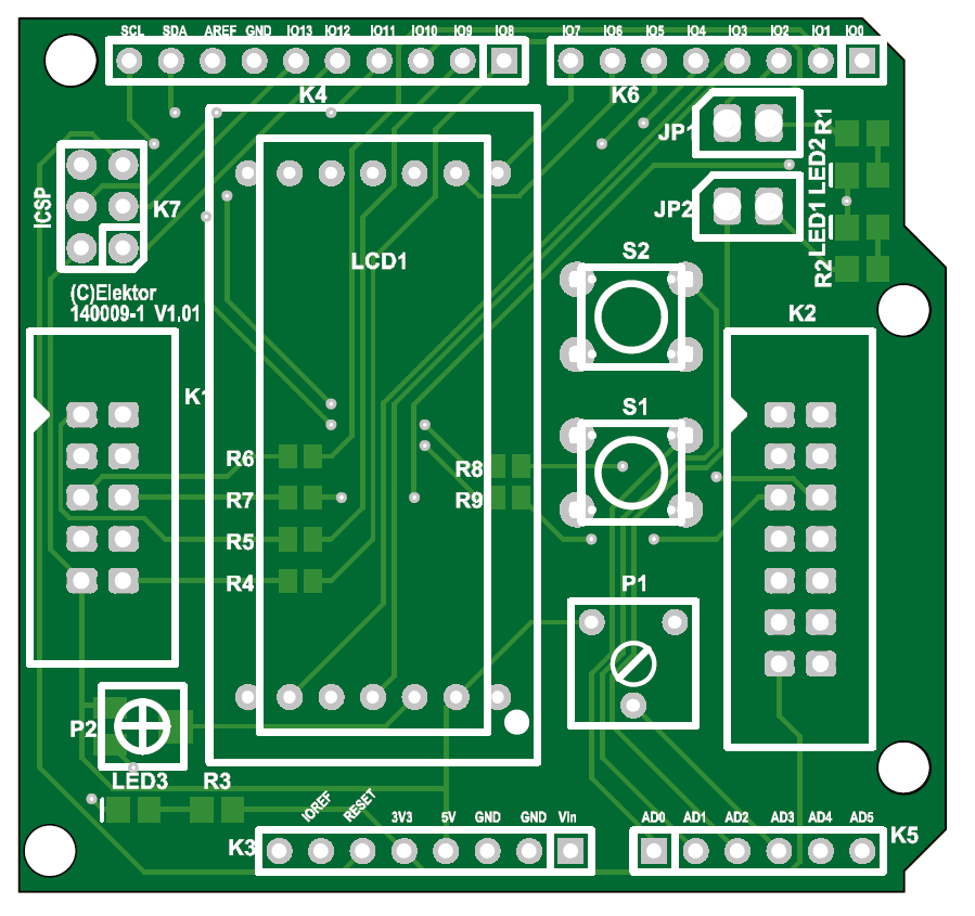 Arduino-Extension-Shield (140009-1)