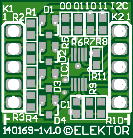 Breakout-Board mit ADS1115 (140169-1)