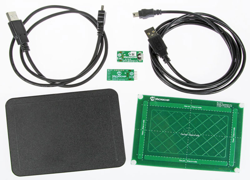 Microchip Hillstar Development Kit + 3D-Touchpad