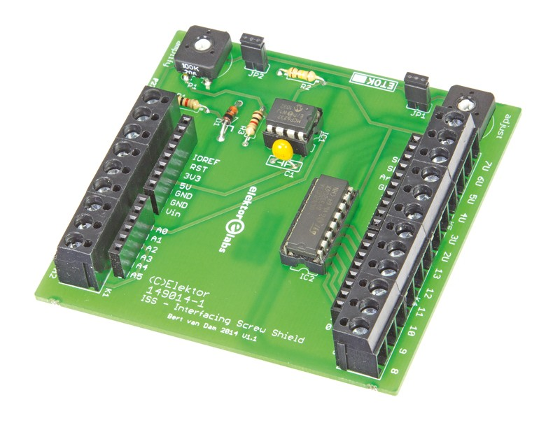 Arduino Interfacing Screw Shield