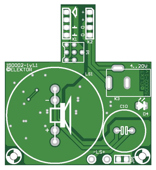 Audio-T-Board (150002-1)