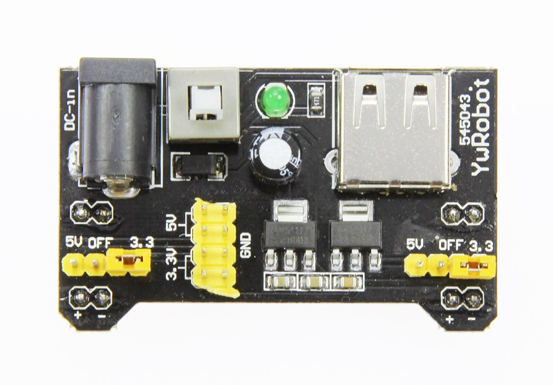 Adjustable Breadboard Power Supply (150246-91)