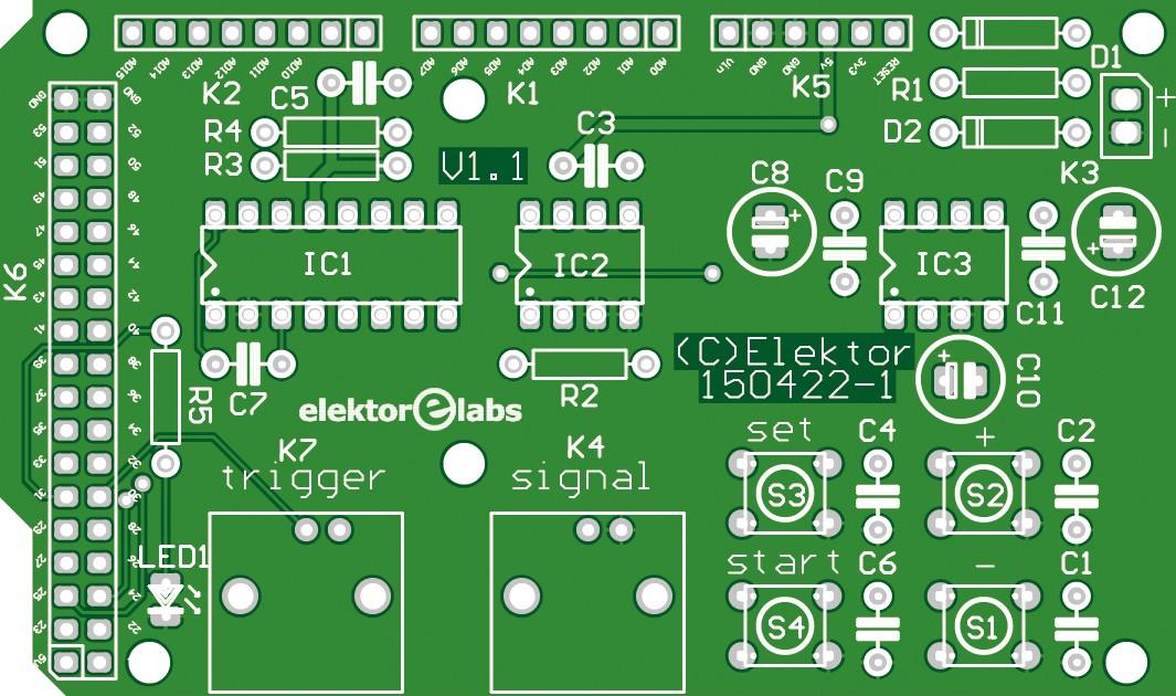 Voltage tracker for oscilloscope (150422-1)