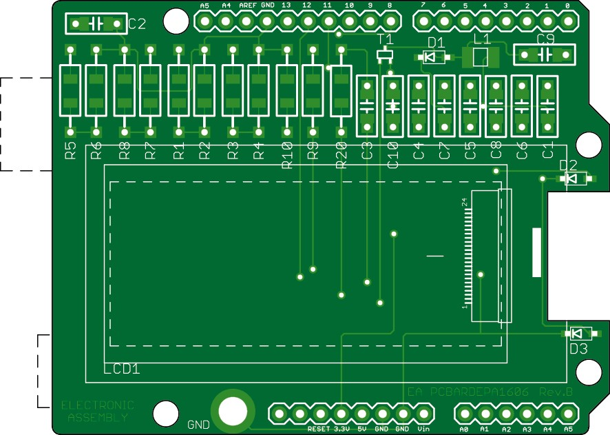 ePaper 2.0 PCB (160097-1)