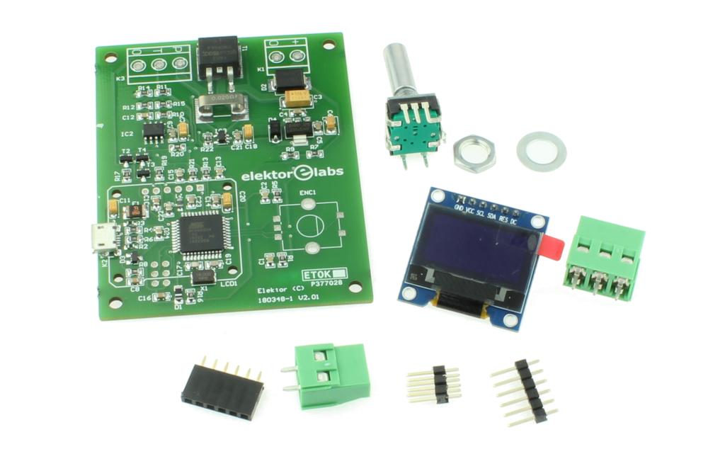 DIY solder station - kit of parts (180348-91)