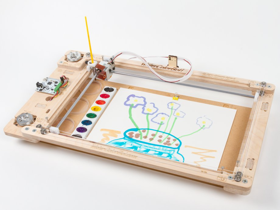 WaterColorBot 2.0 (Pen Plotter)