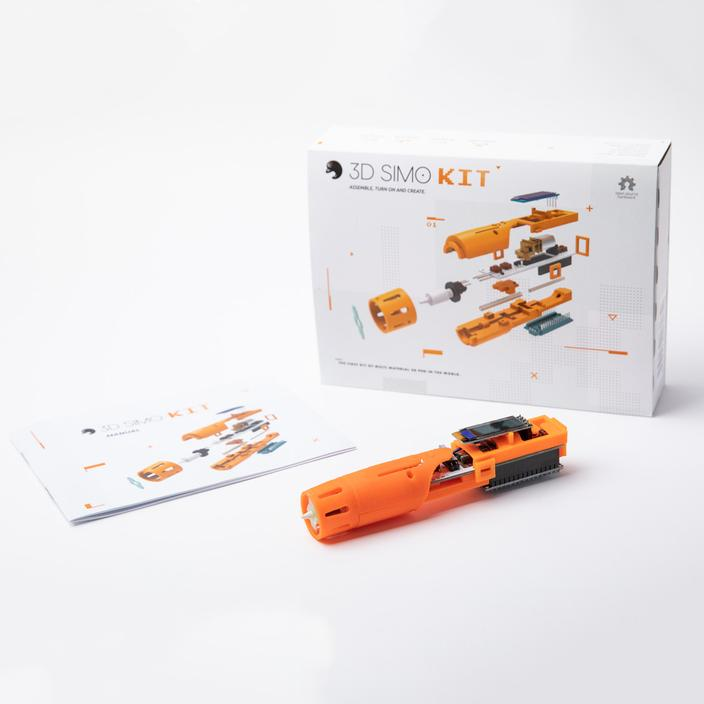 3Dsimo Kit – Open Source 3D Pen Assembly Kit